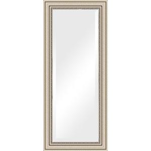Зеркало с фацетом в багетной раме поворотное Evoform Exclusive 67x157 см, серебряный акведук 93 мм (BY 1288) зеркало с фацетом в багетной раме поворотное evoform exclusive 67x157 см серебряный акведук 93 мм by 1288