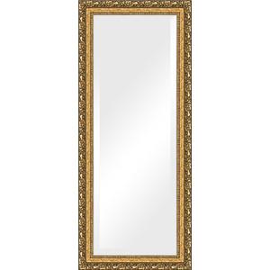 Зеркало с фацетом в багетной раме поворотное Evoform Exclusive 65x155 см, виньетка бронзовая 85 мм (BY 1290)