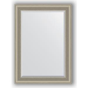 Зеркало с фацетом в багетной раме поворотное Evoform Exclusive 76x106 см, хамелеон 88 мм (BY 1295) цены