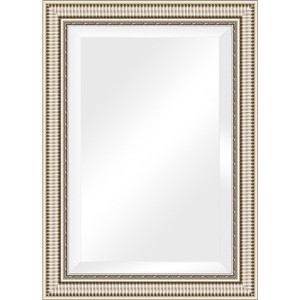Зеркало с фацетом в багетной раме поворотное Evoform Exclusive 77x107 см, серебряный акведук 93 мм (BY 1298) зеркало с фацетом в багетной раме поворотное evoform exclusive 67x157 см серебряный акведук 93 мм by 1288