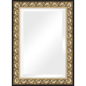 Зеркало с фацетом в багетной раме поворотное Evoform Exclusive 80x110 см, барокко золото 106 мм (BY 1301) зеркало с фацетом в багетной раме поворотное evoform exclusive 60x120 см барокко серебро 106 мм by 3502