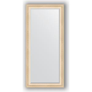 Зеркало с фацетом в багетной раме поворотное Evoform Exclusive 75x165 см, старый гипс 82 мм (BY 1302)
