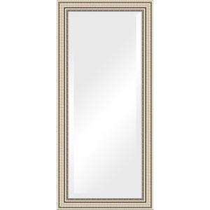 Зеркало с фацетом в багетной раме поворотное Evoform Exclusive 77x167 см, серебряный акведук 93 мм (BY 1308) зеркало с фацетом в багетной раме поворотное evoform exclusive 67x157 см серебряный акведук 93 мм by 1288