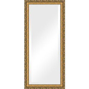 Зеркало с фацетом в багетной раме поворотное Evoform Exclusive 75x165 см, виньетка бронзовая 85 мм (BY 1310) зеркало с фацетом в багетной раме поворотное evoform exclusive 80x170 см виньетка серебро 109 мм by 3608