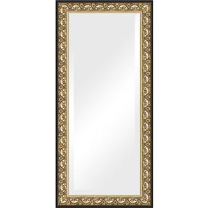 Зеркало с фацетом в багетной раме поворотное Evoform Exclusive 80x170 см, барокко золото 106 мм (BY 1311) зеркало с фацетом в багетной раме поворотное evoform exclusive 80x170 см виньетка серебро 109 мм by 3608