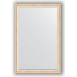 Зеркало с фацетом в багетной раме поворотное Evoform Exclusive 115x175 см, старый гипс 82 мм (BY 1312)