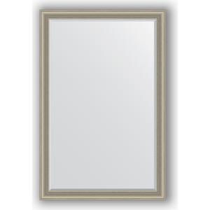 Зеркало с фацетом в багетной раме поворотное Evoform Exclusive 116x176 см, хамелеон 88 мм (BY 1315) цены