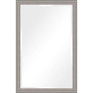 Зеркало с фацетом в багетной раме поворотное Evoform Exclusive 116x176 см, римское серебро 88 мм (BY 1317) зеркало напольное с фацетом поворотное evoform exclusive floor 81x201 см в багетной раме римское серебро 88 мм by 6118