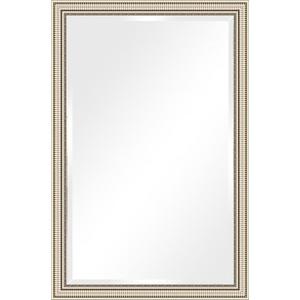 Зеркало с фацетом в багетной раме поворотное Evoform Exclusive 117x177 см, серебряный акведук 93 мм (BY 1318) зеркало с фацетом в багетной раме поворотное evoform exclusive 67x157 см серебряный акведук 93 мм by 1288