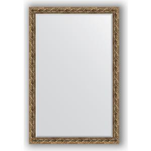 Зеркало с фацетом в багетной раме поворотное Evoform Exclusive 116x176 см, фреска 84 мм (BY 1319)