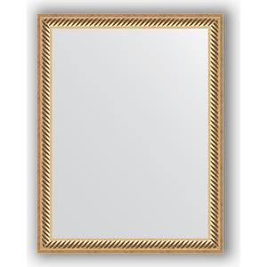 Зеркало в багетной раме Evoform Definite 35x45 см, витое золото 28 мм (BY 1327)