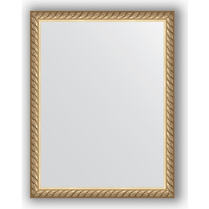 Зеркало в багетной раме Evoform Definite 34x44 см, витая латунь 26 мм (BY 1338) зеркало в багетной раме evoform definite 68x68 см витая латунь 26 мм by 0669