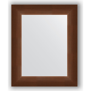 Зеркало в багетной раме Evoform Definite 42x52 см, орех 65 мм (BY 1351)