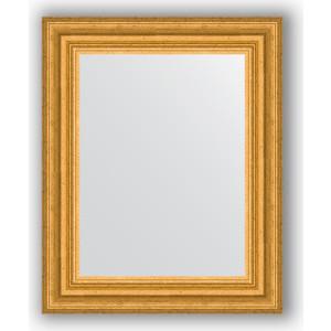 Зеркало в багетной раме Evoform Definite 42x52 см, состаренное золото 67 мм (BY 1353) цены
