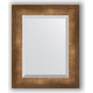Зеркало с фацетом в багетной раме Evoform Exclusive 42x52 см, состаренная бронза 66 мм (BY 1360) цены