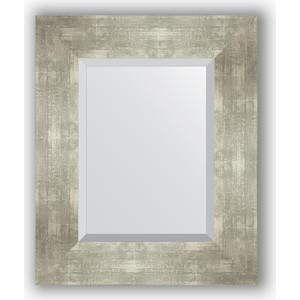 Зеркало с фацетом в багетной раме Evoform Exclusive 46x56 см, алюминий 90 мм (BY 1362)