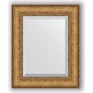 Зеркало с фацетом в багетной раме Evoform Exclusive 44x54 см, медный эльдорадо 73 мм (BY 1365) утюг цена в эльдорадо