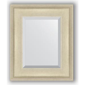 Зеркало с фацетом в багетной раме Evoform Exclusive 48x58 см, травленое серебро 95 мм (BY 1368)