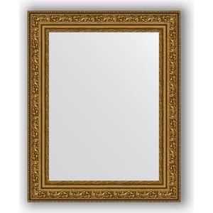 Зеркало в багетной раме Evoform Definite 40x50 см, виньетка состаренное золото 56 мм (BY 3007) цены