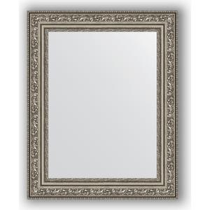 Зеркало в багетной раме Evoform Definite 40x50 см, виньетка состаренное серебро 56 мм (BY 3008)