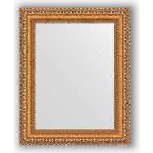 Зеркало в багетной раме Evoform Definite 41x51 см, золотые бусы на бронзе 60 мм (BY 3010)