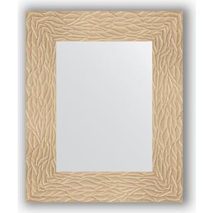 Зеркало в багетной раме Evoform Definite 46x56 см, золотые дюны 90 мм (BY 3021) зеркало в багетной раме поворотное evoform definite 80x100 см золотые дюны 90 мм by 3277