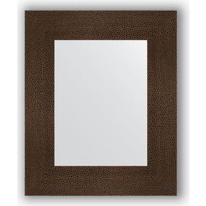 Зеркало в багетной раме Evoform Definite 46x56 см, бронзовая лава 90 мм (BY 3024)