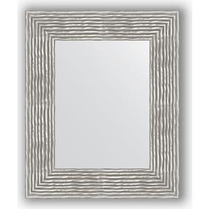 Зеркало в багетной раме Evoform Definite 46x56 см, волна хром 90 мм (BY 3025) трекинговые кроссовки warrior wds 3025 wds 3025