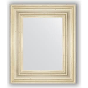 Зеркало в багетной раме Evoform Definite 49x59 см, травленое серебро 99 мм (BY 3028)