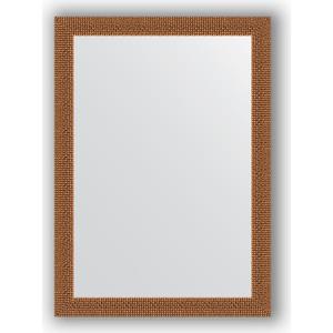 Зеркало в багетной раме поворотное Evoform Definite 51x71 см, мозаика медь 46 мм (BY 3035)