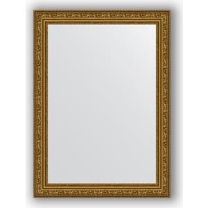 Зеркало в багетной раме поворотное Evoform Definite 54x74 см, виньетка состаренное золото 56 мм (BY 3039)