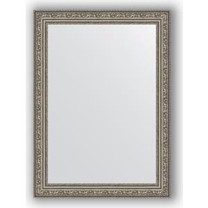 Зеркало в багетной раме поворотное Evoform Definite 54x74 см, виньетка состаренное серебро 56 мм (BY 3040) зеркало в багетной раме поворотное evoform definite 54x74 см травленое серебро 59 мм by 0632