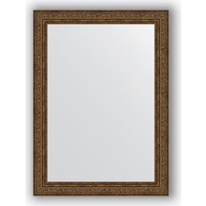Зеркало в багетной раме поворотное Evoform Definite 54x74 см, виньетка состаренная бронза 56 мм (BY 3041) цена и фото