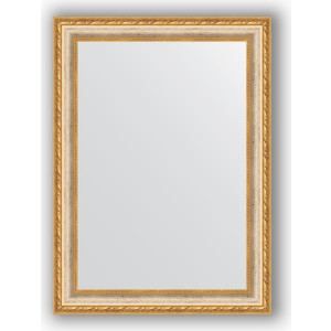 Зеркало в багетной раме поворотное Evoform Definite 55x75 см, версаль кракелюр 64 мм (BY 3045) зеркало в багетной раме поворотное evoform definite 75x135 см версаль серебро 64 мм by 3302