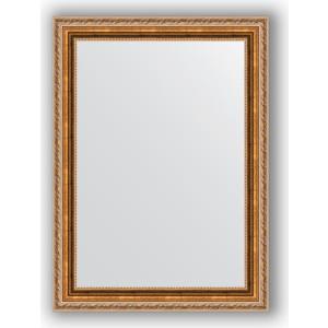 Зеркало в багетной раме поворотное Evoform Definite 55x75 см, версаль бронза 64 мм (BY 3047)