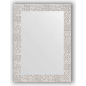 Зеркало в багетной раме поворотное Evoform Definite 56x76 см, соты алюминий 70 мм (BY 3051)
