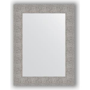 Зеркало в багетной раме поворотное Evoform Definite 60x80 см, чеканка серебряная 90 мм (BY 3055)