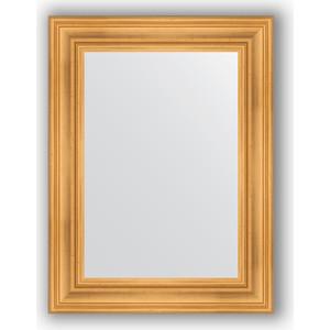 Зеркало в багетной раме поворотное Evoform Definite 62x82 см, травленое золото 99 мм (BY 3059) thule 3059