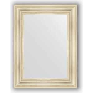 Зеркало в багетной раме поворотное Evoform Definite 62x82 см, травленое серебро 99 мм (BY 3060)