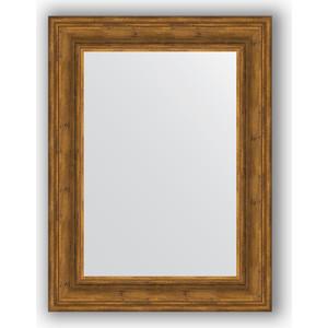 Зеркало в багетной раме поворотное Evoform Definite 62x82 см, травленая бронза 99 мм (BY 3061)