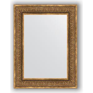 Зеркало в багетной раме поворотное Evoform Definite 63x83 см, вензель бронзовый 101 мм (BY 3063) цена