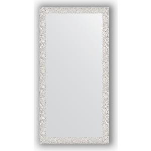 Зеркало в багетной раме поворотное Evoform Definite 51x101 см, чеканка белая 46 мм (BY 3066)