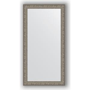 цена на Зеркало в багетной раме поворотное Evoform Definite 54x104 см, виньетка состаренное серебро 56 мм (BY 3072)