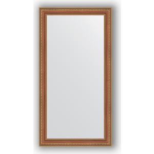 цена на Зеркало в багетной раме поворотное Evoform Definite 55x105 см, бронзовые бусы на дереве 60 мм (BY 3075)