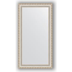 Зеркало в багетной раме поворотное Evoform Definite 55x105 см, версаль серебро 64 мм (BY 3078) зеркало в багетной раме поворотное evoform definite 55x105 см версаль кракелюр 64 мм by 3077