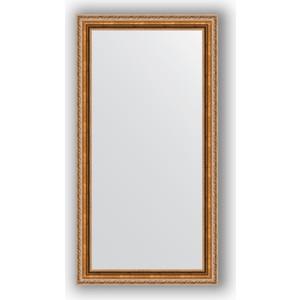 Зеркало в багетной раме поворотное Evoform Definite 55x105 см, версаль бронза 64 мм (BY 3079) зеркало в багетной раме поворотное evoform definite 55x105 см версаль кракелюр 64 мм by 3077