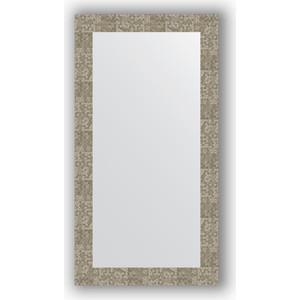 Зеркало в багетной раме поворотное Evoform Definite 56x106 см, соты титан 70 мм (BY 3084) цена и фото