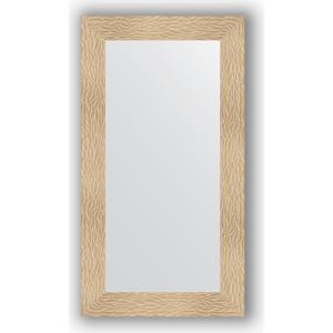 Зеркало в багетной раме поворотное Evoform Definite 60x110 см, золотые дюны 90 мм (BY 3085) зеркало в багетной раме поворотное evoform definite 60x110 см черный дуб 37 мм by 0734