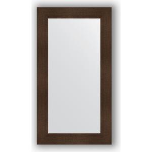 Зеркало в багетной раме поворотное Evoform Definite 60x110 см, бронзовая лава 90 мм (BY 3088) зеркало в багетной раме поворотное evoform definite 60x110 см черный дуб 37 мм by 0734