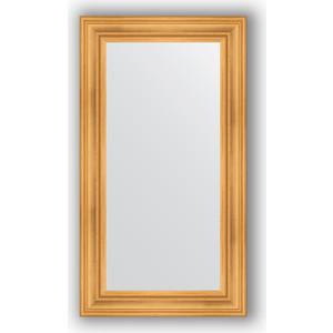 Зеркало в багетной раме поворотное Evoform Definite 62x112 см, травленое золото 99 мм (BY 3091) фото